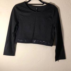 Victoria's Secret Sport Long Sleeve Crop Shirt